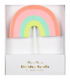 Meri Meri Gökkuşağı Mum Doğum Günü Parti Dekorasyonu