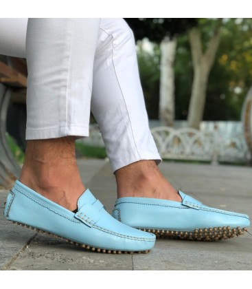 Erhan Korkmaz EK09 Rox Baby Blue Erkek Ayakkabı