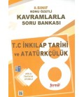 8. Sınıf T.C. İnkılap Tarihi ve Atatürkçülük Konu Özetli Kavramlarla Soru Bankası