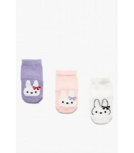 Koton Karma Kız Bebek 3'Lü Çorap 9YMG82221AA