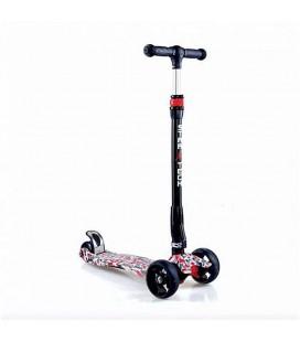 Startech Katlanabilir Scooter Tk01 Led Işıklı Tekerlek