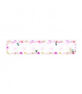 Keskin Color 830140-99 Klavye Önü Haftalık Bloknot/Planner Çiçek, 7.5x40 cm