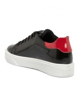Tergan Siyah Deri Kadın Ayakkabı K18I1AY63781