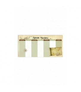 Keskin Color Planner Haftalık Blok-Denizci 12x26 830131-99