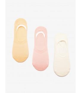 Koton Kadın 3'lü Çorap Pembe 8YAK85091AA909