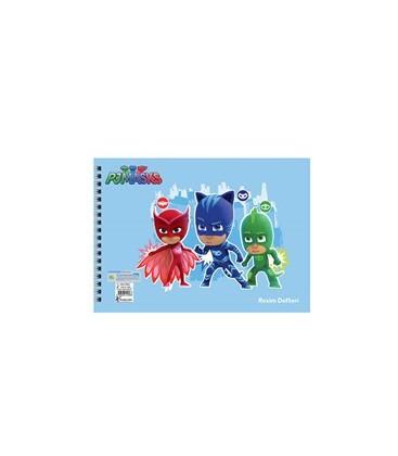 Keskin Color Pijamaskeliler Resim Defteri 15 Yaprak 300115-88-01
