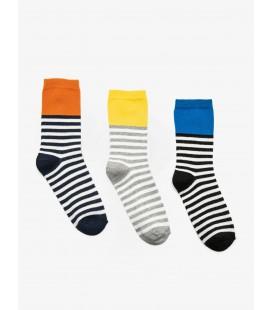 Koton 3'lü Kadın Çorap Mavi 9KAK82038AA600