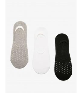 Koton Kadın 3'lü Çorap Siyah 8YAK85092AA999