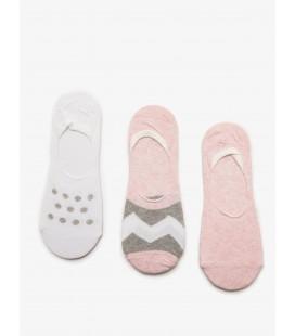Koton Kadın 3 Çorabı Pembe 8YAK85095AA909