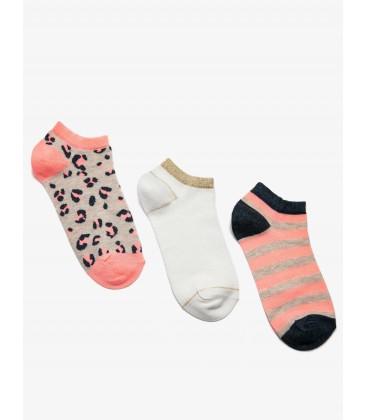 Koton 3'lü Kadın Çorap Pembe 9KAK81022AA909