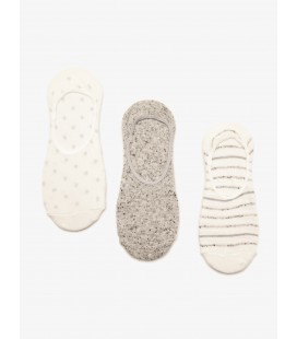 Koton Kadın 3'lü Çorap Beyaz 8YAK85054AA000