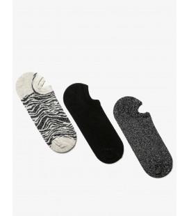 Koton 3'lü Kadın Çorap Siyah 9KAK81047AA999
