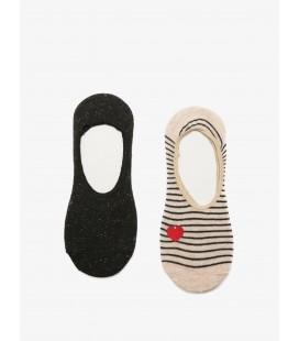 Koton Kadın 2'li Çorap Bej 8YAK85058AA060