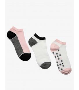 Koton 3'lü Kadın Çorap Pembe 9KAK81010AA909