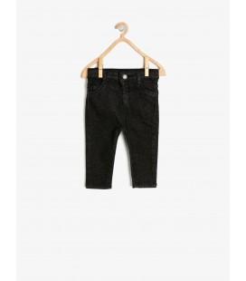 Koton Cep Detaylı Jean Pantolon Siyah 9KMB46277DD999