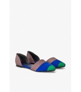 Twist Çok Renkli Kadın Babet Ayakkabı TS1190030041