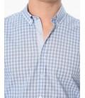 George Hogg Kareli Uzun Kollu Gömlek  7002426