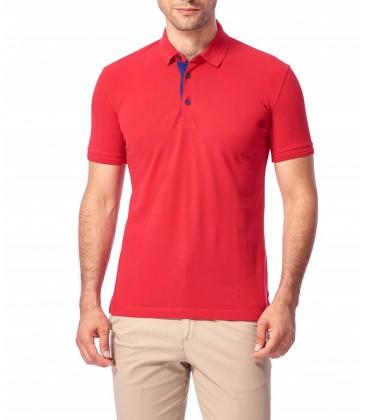 Dufy Erkek Kırmızı T-Shirt - Du2172041003 DU2172041003