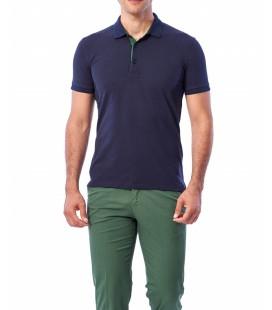 Dufy Erkek Lacivert T-Shirt - Du2172041003