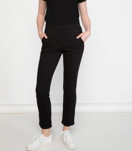 Defacto I9717AZ BK27 Rahat Kesim Kadın Pantolon
