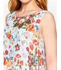 Koton Çiçekli Bluz Kırmızı 7YAK68347PWF09