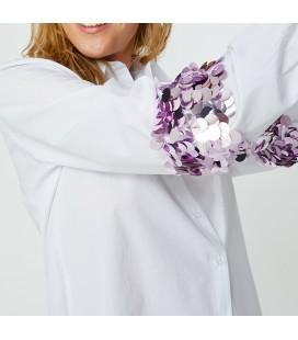 Koton Pul Detaylı Tunik Beyaz 8YAK66315PW000