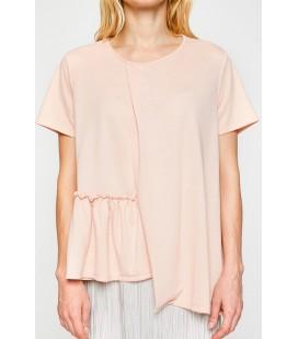Koton Kadın Pudra T-Shirt 8KAF10245GK
