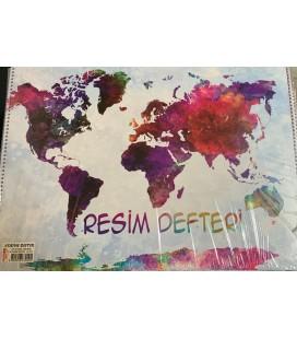 Defne Defter 50x35 Resim Defteri Dfn-9090