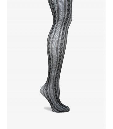 Koton Kadın Desenli Külotlu Çorap Siyah 9KAK85003AA999