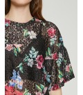 Koton Kadın Dantel Detaylı Bluz Siyah 8YAK13573EK03A