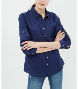 Koton Kadın Gömlek Lacivert 7yal61544jw734