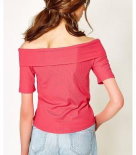 Koton Kadın Pembe T-Shirt 7YAF10171GK