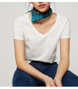 Koton V Yaka T-Shirt Beyaz 8YAL11353OK001