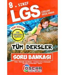 Oscar Yayınları 8. Sınıf LGS Tüm Dersler Soru Bankası