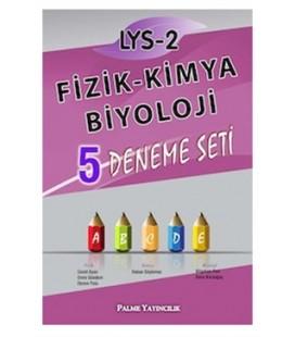 LYS 2 Fizik-Kimya-Biyoloji 5 Deneme Seti