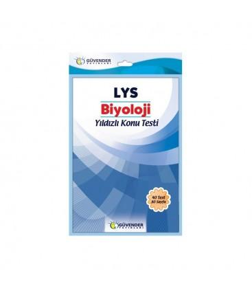 LYS Biyoloji Yıldızlı Konu Testi Güvender Yayınları