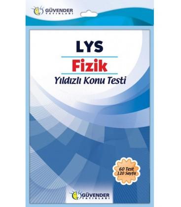 LYS Fizik Yıldızlı Konu Testi