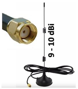 Manyetik Tabanlı 2.5G 2.4 GHz Wifi Kablosuz Anten Aant 060006