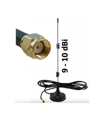 Manyetik Tabanlı 2.5G 2.4 GHz Wifi Kablosuz Anten