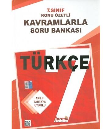 7. Sınıf Türkçe Konu Özetli Kavramlarla Soru Bankası