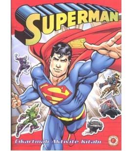 Superman Çıkartmalı Aktivite Kitabı