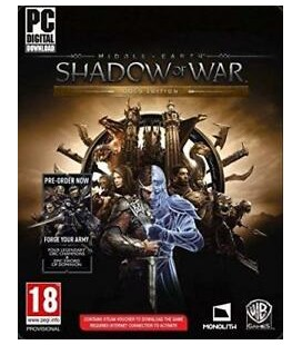 Middle Earth Shadow Of War Pc