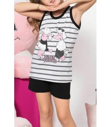 Sexen Kids Kız Çocuk Tişört 07048