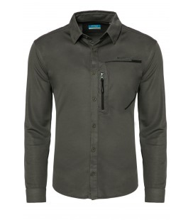 California Forever Men's Shirt Anthracite Av99011-425