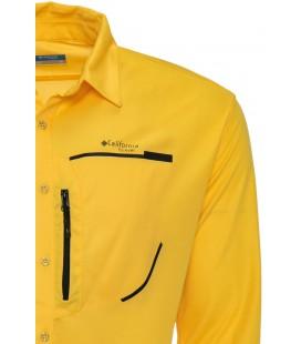 California Forever Erkek Gömlek Krem Av99011
