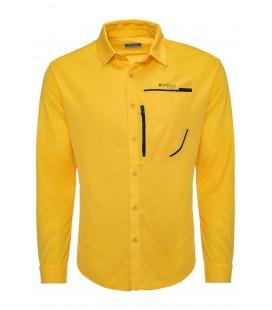 California Forever Men's Shirt Yellow Av99011-1355