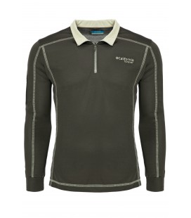 California Forever Polo Collar Men Sweatshirt Anthracite AV99012-425