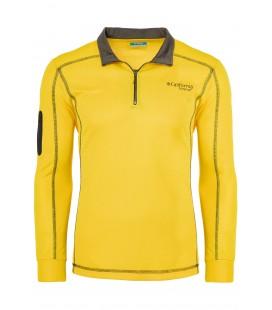 California Forever, Polo Yaka Erkek Sweatshirt, Sarı AV99012-1355