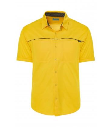 California Forever Polo Yaka Erkek Tişört Sarı