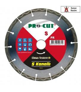 Pro-Cut PR-50969 S Elmas Testere 115 mm Susuz Kesim